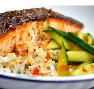 Speedy Sweet Chilli Salmon with Sileni Estates Pinot Gris \ VIDEO